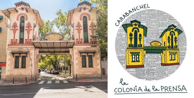 Colonia de la Prensa. Distrito Carabanchel
