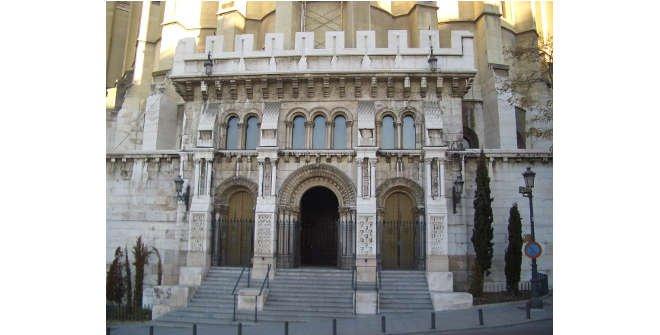Fachada Cripta de la Almudena