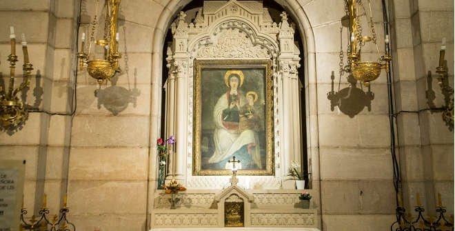 Cripta de la Catedral de la Almudena