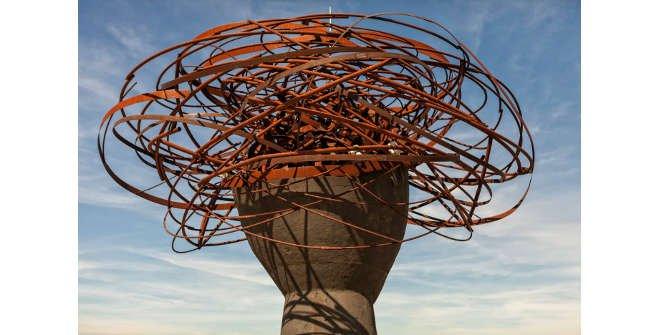 Dama del Manzanares. Parque Lineal del Manzanares