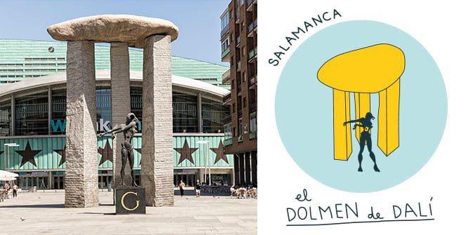 Dolmen de Dalí. Distrito Salamanca
