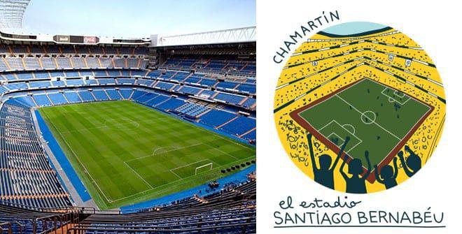 Estadio Santiago Bernabéu. Distrito Chamartín