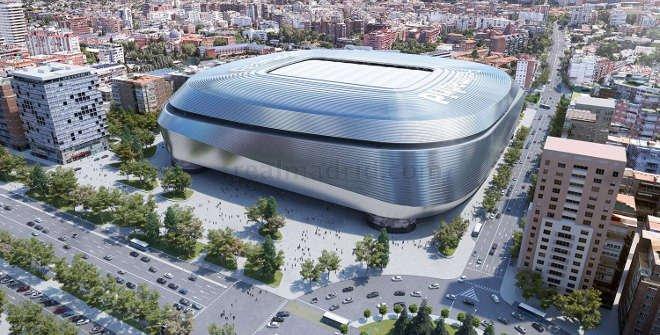 Reforma Estadio Santiago Bernabéu