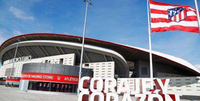 Estadio Wanda Metropolitano. Atlético de Madrid