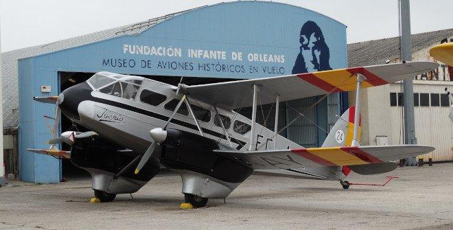 Museo de Aviones Históricos en Vuelo - Fundación Infante de Orleans