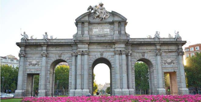 Histohuellas - Puerta de Alcalá