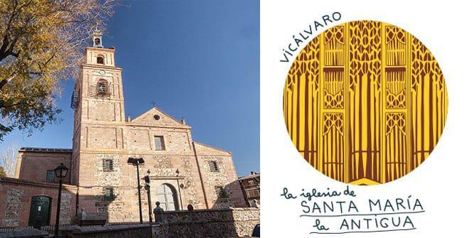 Parroquia de Santa María La Antigua. Distrito Vicálvaro