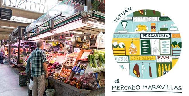 Mercado de Maravillas. Distrito Tetuán