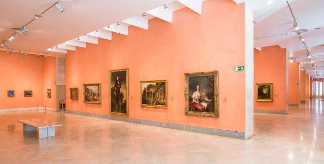 Museo Nacional Thyssen-Bornemisza. Salas ©Pablo Casares