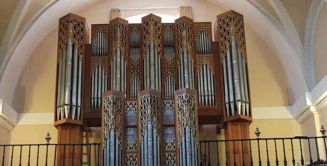 Órgano de la Iglesia de Santa María la Antigua de Vicálvaro