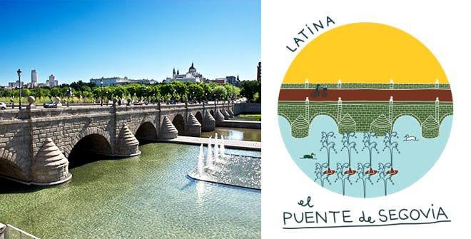 Puente de Segovia. Distrito Latina