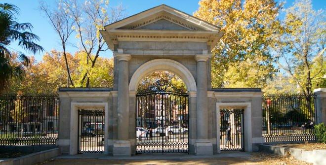 Puerta Real del Jardin Botanico © Antonello Dellanotte