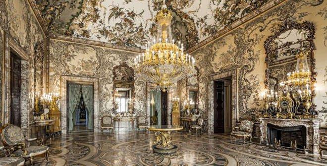 Salón Gasparini del Palacio Real de Madrid