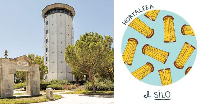 El silo de Hortaleza. Distrito Hortaleza