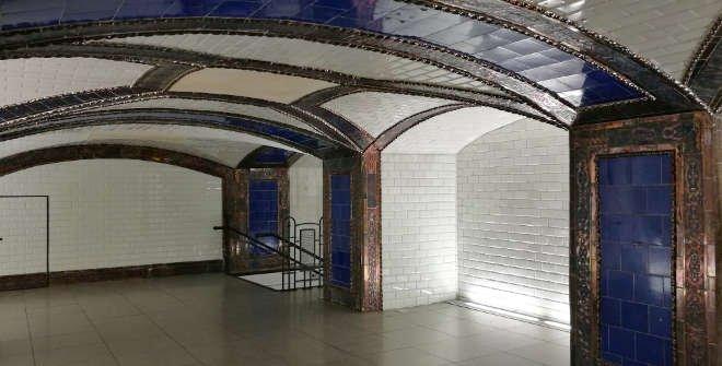 Vestíbulo de la estación de Metro de Pacífico