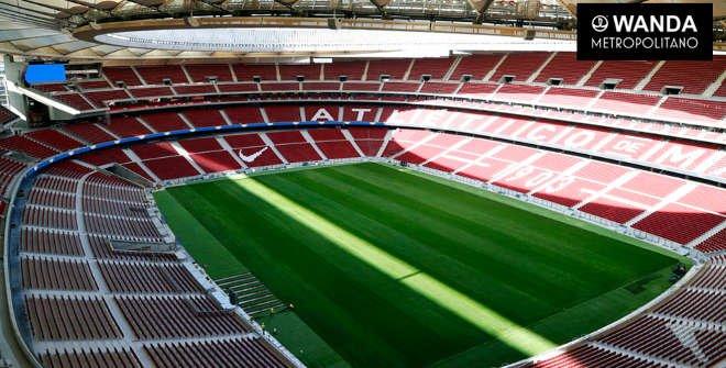 Estadio Wanda Metropolitano. Club Atlético de Madrid