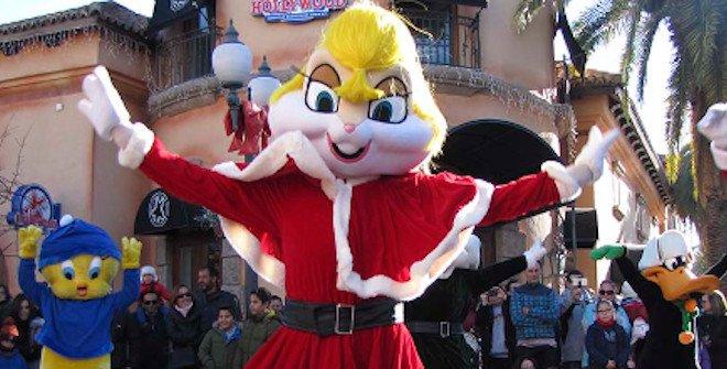 Parque Warner Navidad