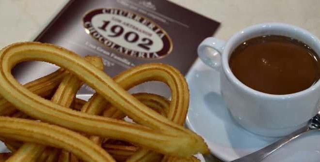 Los Artesanos 1902. Chocolatería y churrería