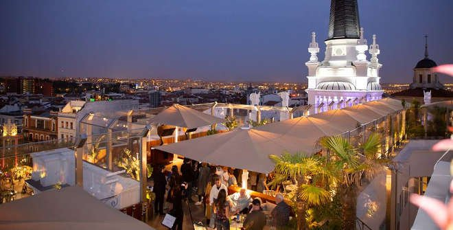 The Roof Hotel Me Madrid