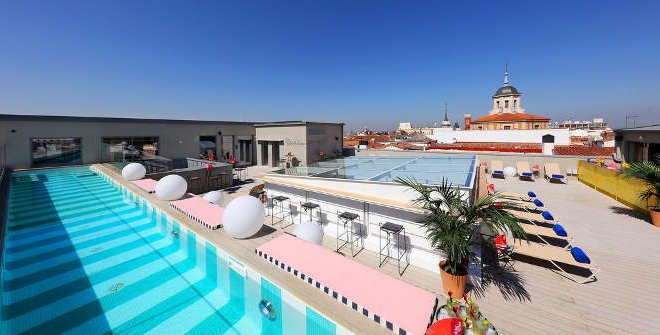 Sky bar axel hotel madrid - Hotels in madrid spain with swimming pool ...