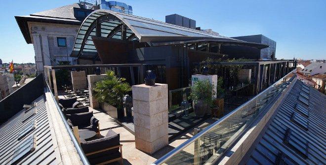 Terraza del Hotel Urban