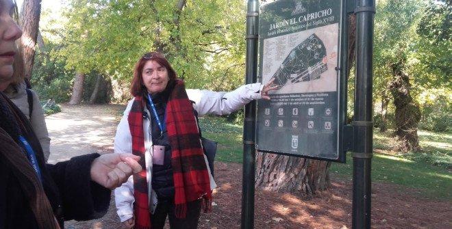 Visita Parque de El Capricho, por María Jesús Malo, guía oficial APIT (Asociación profesional de guías oficiales de turismo de Madrid)