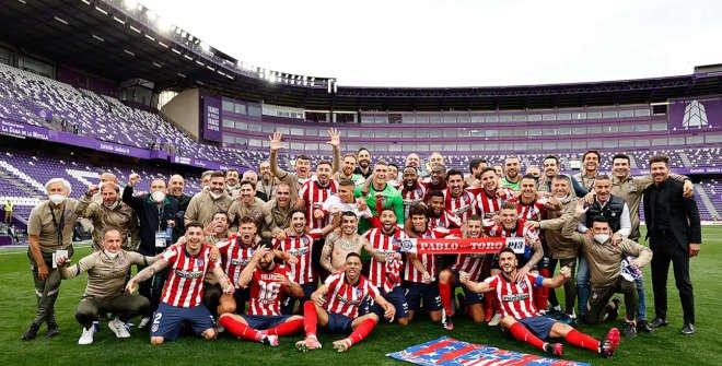 Atlético de Madrid, campeón de LaLiga 2020 -2021