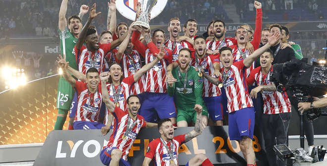 Atlético de Madrid, victoria Europa League 2018. © Atleticodemadrid.com