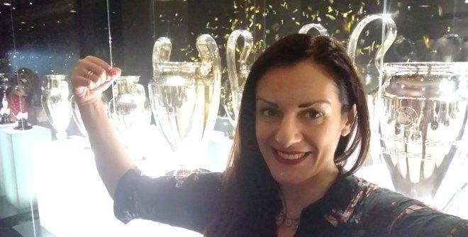Con las Copas de Europa del Real Madrid