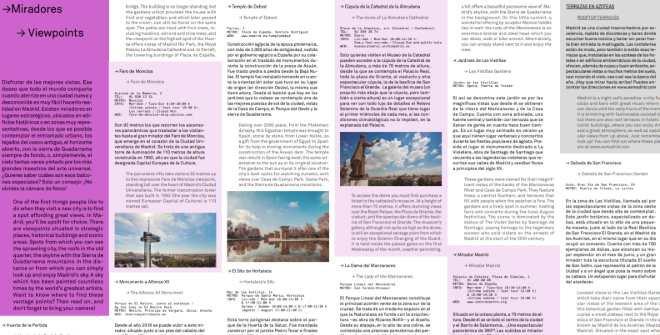 Miradores / Viewpoints