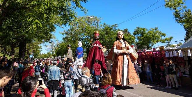 Gigantes y cabezudos San Isidro 2018