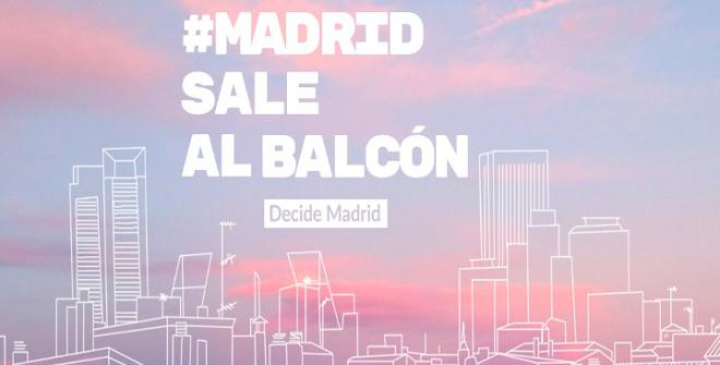 Madrid sale al balcón
