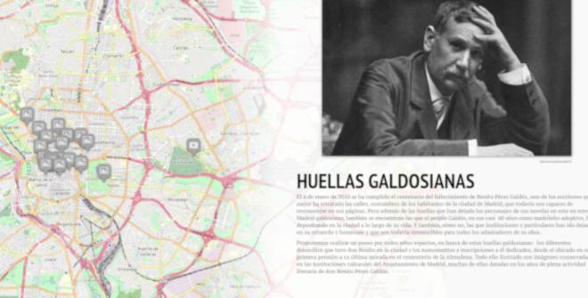 Mapa virtual accesible del Gabinete de Humanidades Digitales EsConD