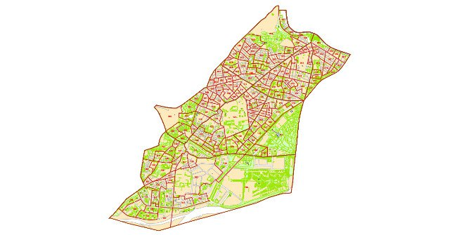 Plano Distrito Carabanchel