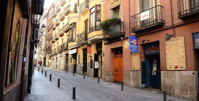 La primera casa de Beniro Pérez Galdós en Madrid. Calle Fuentes, 3