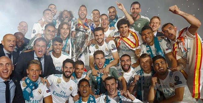 Real Madrid. Celebración 13ª Copa de Europa. © Realmadrid.com