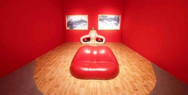 Retrato surrealista de Mae West. Dalí