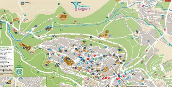 Plano Turístico Segovia (PDF)