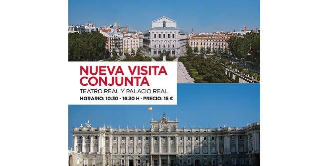 Folleto informativo visita conjunta Palacio Real /Teatro Real