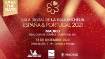 Gala Digital Guía Michelin 2021 en Madrid