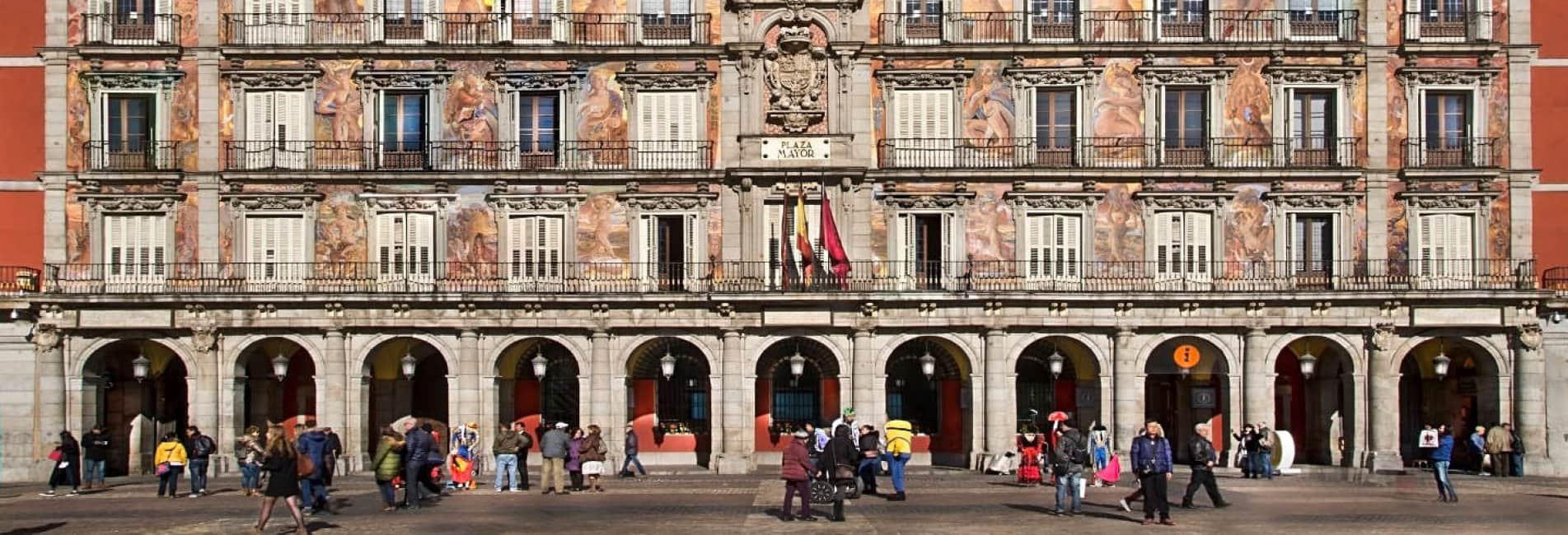 Casa de la Panadería. Plaza Mayor de Madrid. Foto: Francesco Pinton