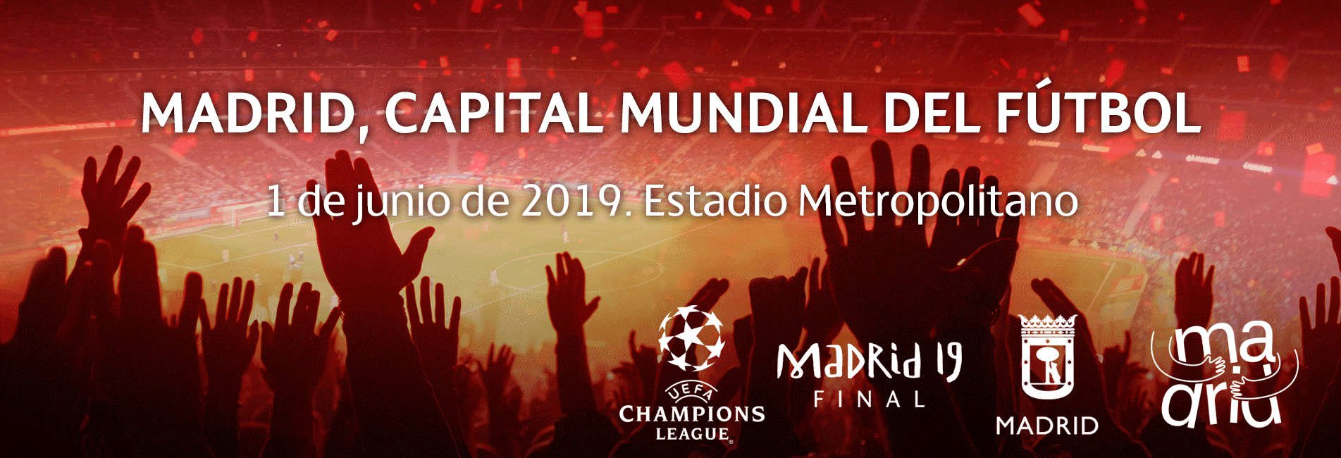 Final de la Champions League. 1 junio. Estadio Metropolitano. Madrid