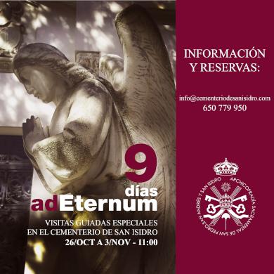 9 días adEternum en el Cementerio de San Isidro