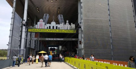 Mutua Madrid Open 2019 en la Caja Mágica