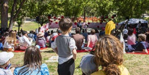 Actividades familiares en la Pradera de San Isidro 2019