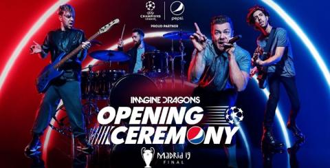 Imagine Dragons actuarán en la Final de la Champions League de Madrid