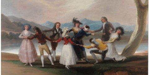 La gallina ciega. Francisco de Goya y Lucientes © Museo Nacional del Prado