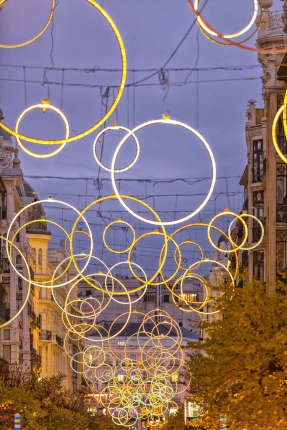 Luces de Navidad Madrid 2019-2020