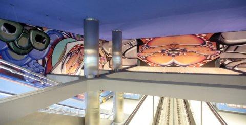 Luis Gordillo - Turismo en el metro
