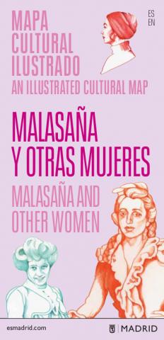 Mapa cultural ilustrado Malasaña y otras mujeres (PDF). Pulsa para descargar.